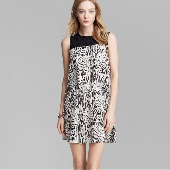 Joie Dresses & Skirts - Joie Floreal Silk Animal Print Dress